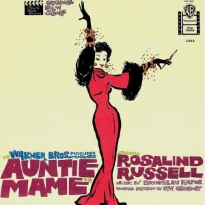 Auntie Mame (1958) (Bronislau Kaper) - LP Front Cover