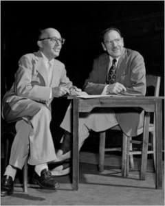 Kurt Weill and Maxwell Anderson