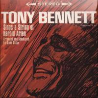 1960: Tony Bennett Sings a String of Harold Arlen