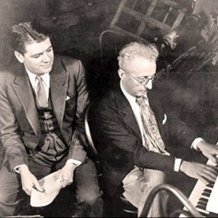 Oscar Hammerstein II and Jerome Kern