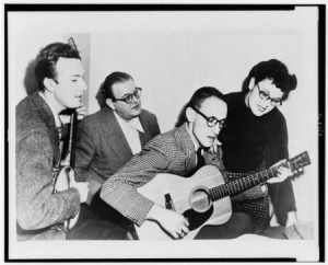 The Weavers (Fred Hellerman on guitar)